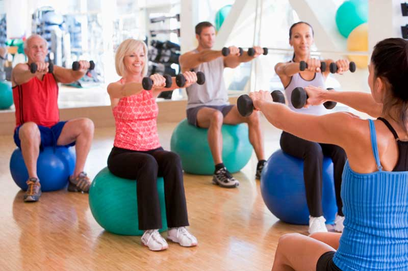 group classes and finding a good personal trainer