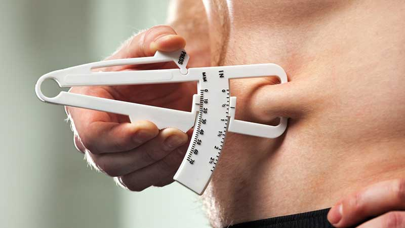 How to track your body fat percentage